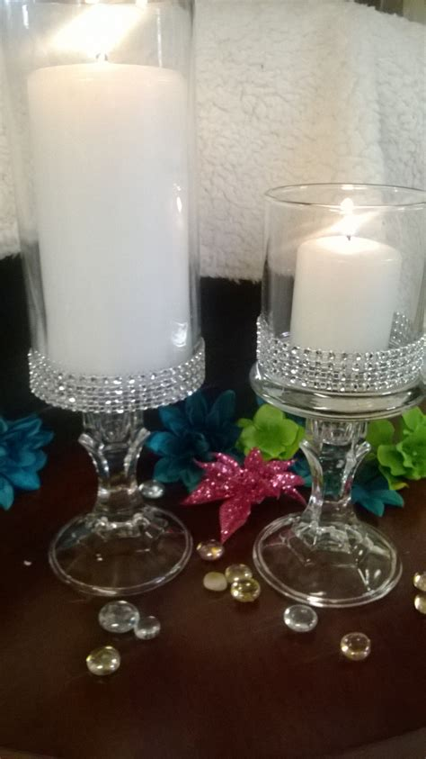 Candle Vase Wedding Centerpieces by Set Of Six 6 Vases Wedding Centerpiece Bridal Shower