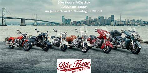 Indian Motorrad Wesel by Bike House Niederrhein News Events Ank 252 Ndigungen