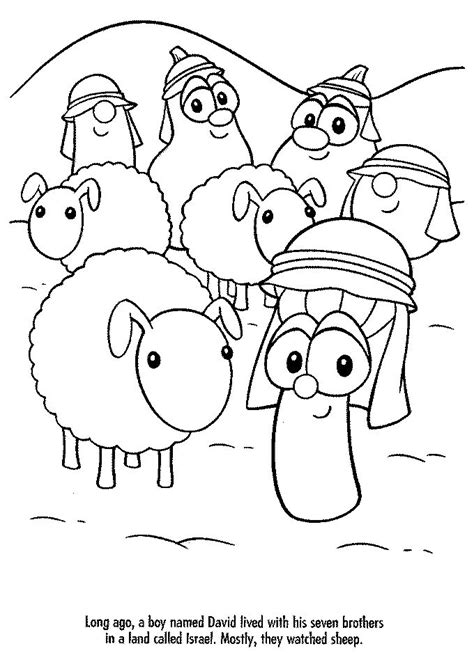 Coloring Page Veggie Tales by The World S Catalog Of Ideas