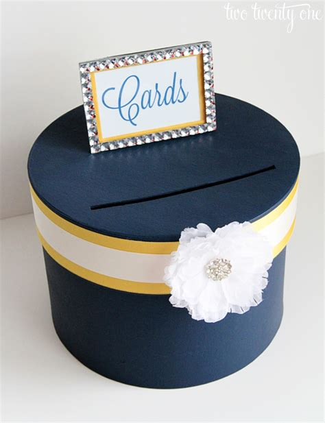 how to make a card box for wedding reception february 2013 two twenty one