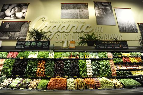 Whole Foods Section by Organic Food Competition Is Driving Prices Zdnet