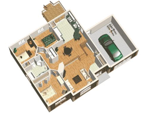 Ranjang Lantai denah rumah minimalis 3 kamar tidur 1 lantai untuk keluarga