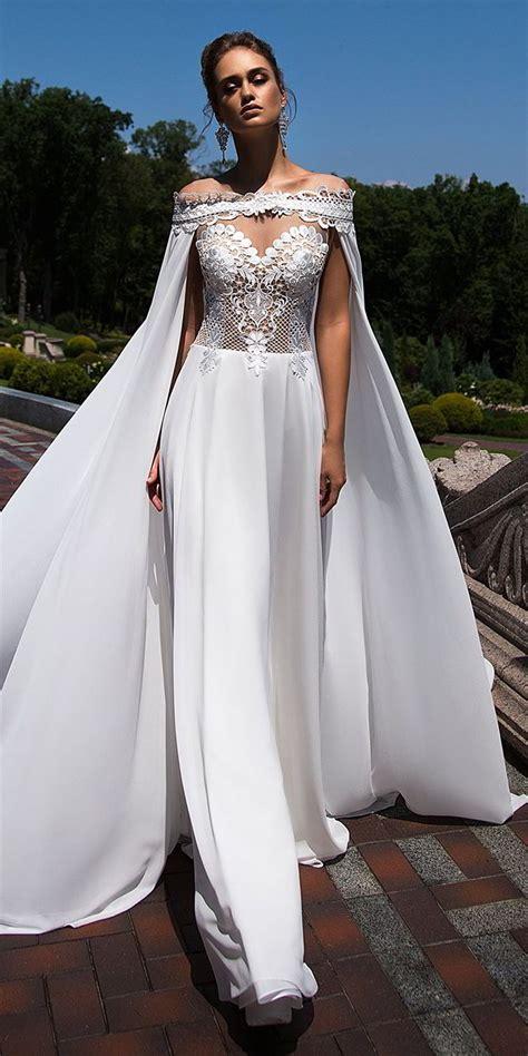 wedding dress cape ida torez fall 2017 wedding dresses world of bridal