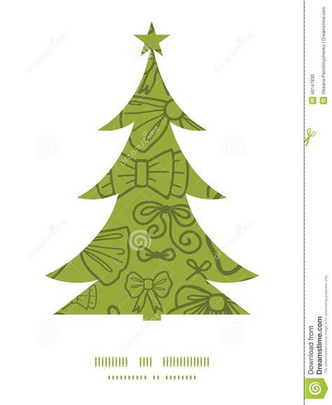 silueta de árbol de navidad el verde vector arquea la silueta 225 rbol de navidad ilustraci 243 n vector imagen 46147830
