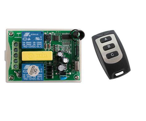 1 Receiver 10 Transmitter 3 Button Ac 220 V 2 Ch Rf Wireless Remote 1 Receiver 1