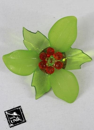 Bros Jilbab Bross Fashion Peniti Cantik Bunga Sale 6 peniti bros bunga daun besar warna warni bross etnik
