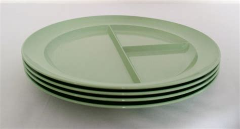 melamine sectioned plates green tupperware divided melamine plates picnic by