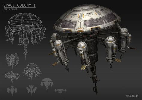 concept design for karimadom colony trivandrum space colony 1 tore wesolowski on artstation at http