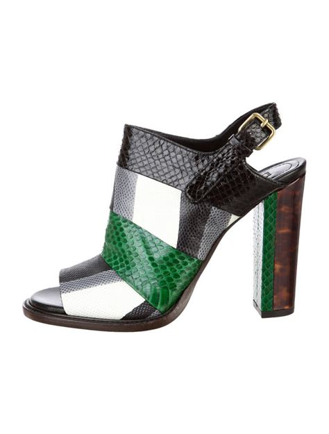 dries noten snakeskin sandals shoes dri20286 the realreal