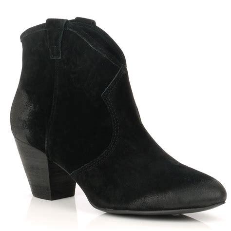 ash jalouse boots black suede