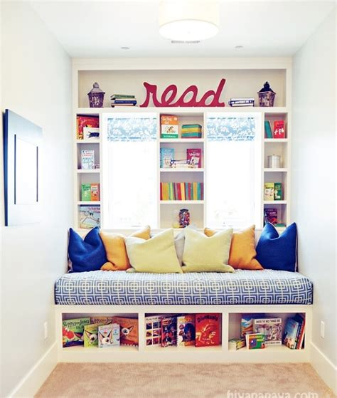 kids reading bench reading bench under window kids room ideas pinterest