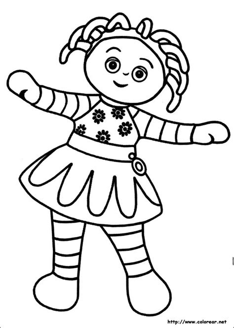coloring pages in the night garden in the night garden coloring pages coloring pages