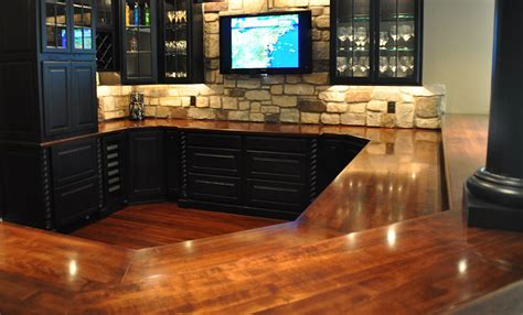 solid wood bar top commercial or residential wood bar top photos for wet bar