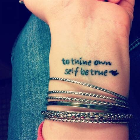 to thine own self be true tattoo to thine own self be true search tatoo s
