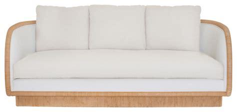 beach sofa laura kirar coastal upholstered sofa c 106 beach style