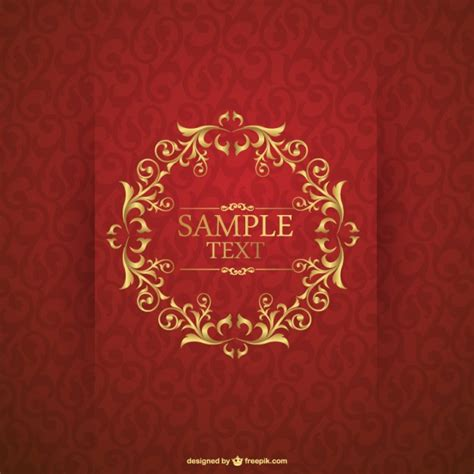 classic invitation card template invitation card template vector free