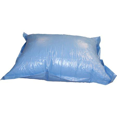 what size air pillow for above ground pool above ground pool winter air pillow 4 x 4 walmart