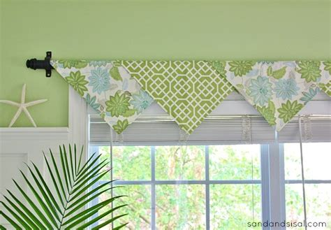 How To Make Curtain Swags The Easiest No Sew Window Treatments Ever Sand And Sisal