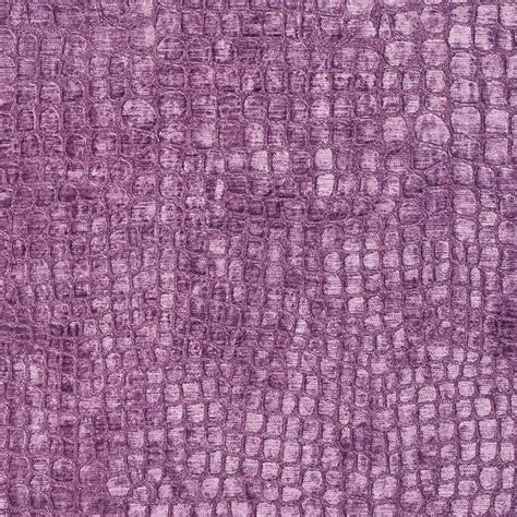 Purple Upholstery by Purple Alligator Print Shiny Woven Velvet Upholstery Fabric By The Yard
