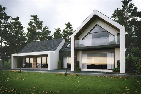 house design uk modern dromintee replacement house newry architects