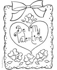 valentines day coloring free printable valentines day coloring pages coloring home