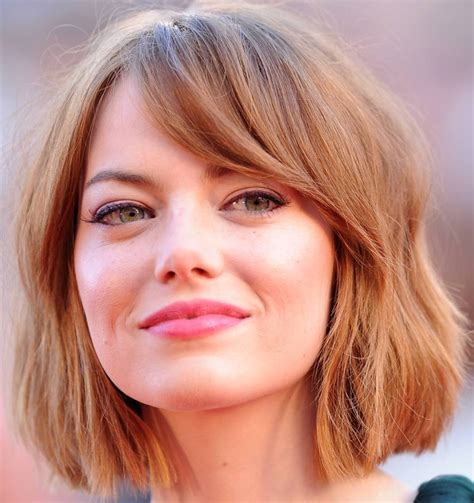 hairstyle for thin hair round face female 14 best short haircuts for women with round faces