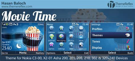live themes for asha 200 movie time live theme for nokia c3 x2 01 asha 200 201
