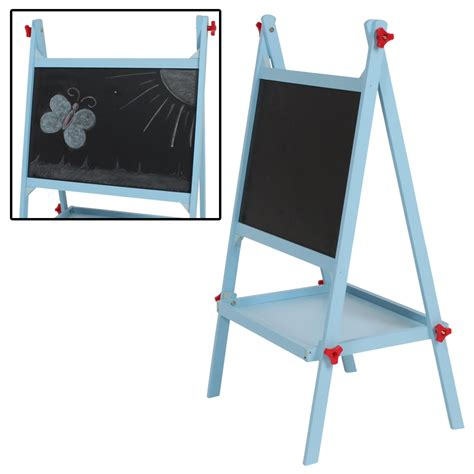 kids mutifunctional drawing board easel creative desk wooden blackboard easel drawing board school desk