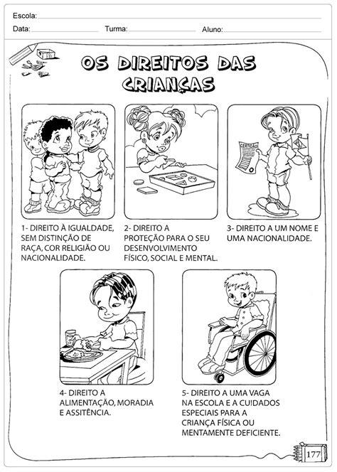 Os Direitos das Crianças - Escola Educação