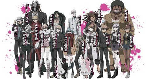 danganronpa anime season danganronpa 3 anime teaser site opened gematsu