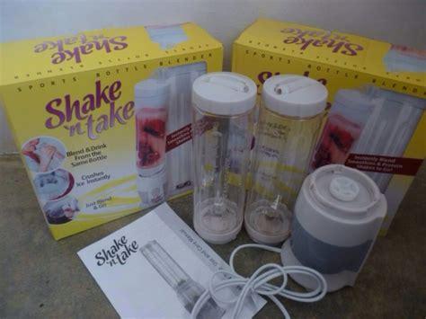 Shake N Take 1 Blender Juice Praktis Blender Unik shake n take 2 tabung personal smoothie blender juicer blend murah sangat praktis