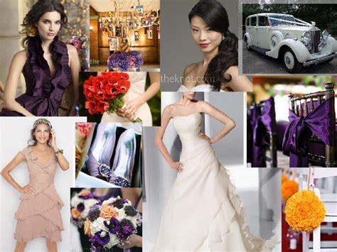 and plum september wedding ideas pantone wedding styleboard the dessy