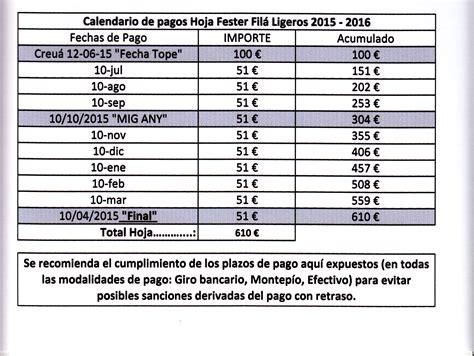 fechas para pagar pagos bimestrales 2016 calendario de pagos bimestre imss 2016 calendario de