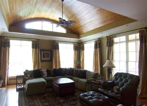 Curtains For High Ceilings Ideas Interior Design Way To Create High Ceiling Window Treatments Teamne Interior