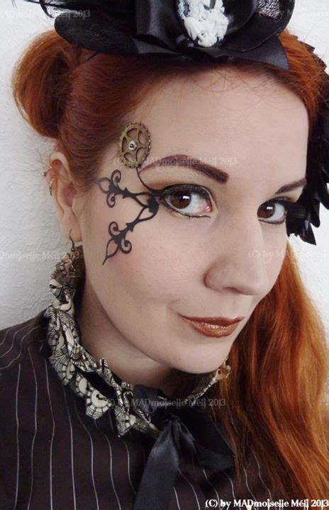 steampunk makeup guide clockpunk clock hands gear