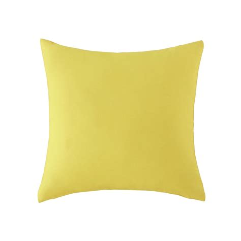 Patio Cushions Yellow Outdoor Cushion In Yellow 50 X 50cm Maisons Du Monde