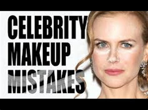 how to fix makeup mistakes for women over 50 todaycom celebrity makeup mistakes youtube