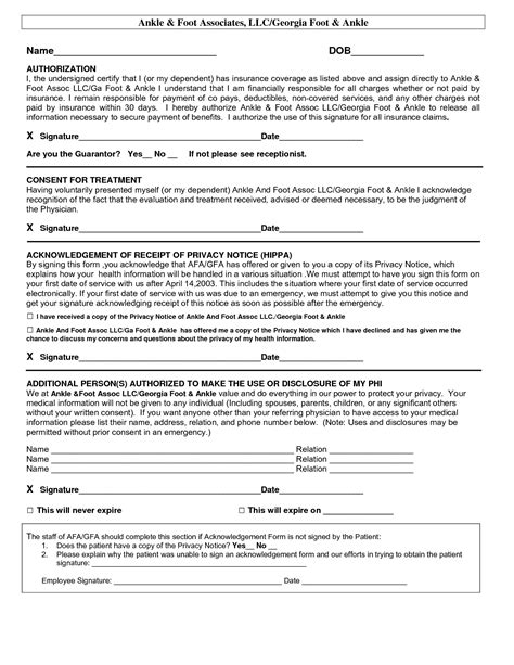 hipaa template forms best photos of hipaa patient consent forms hipaa privacy