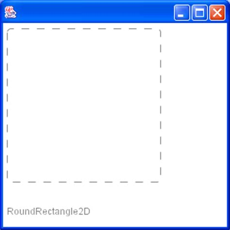 java swing rectangle techtrony dashed rectangle