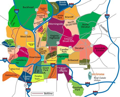 atlanta map usa atlanta state map atlanta on map united states