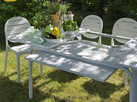nardi giardino sedia per esterni in resina erica nardi