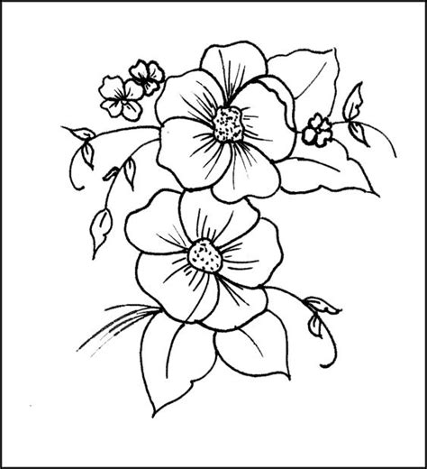imagenes flores para imprimir 17 mejores ideas sobre flores para dibujar faciles en