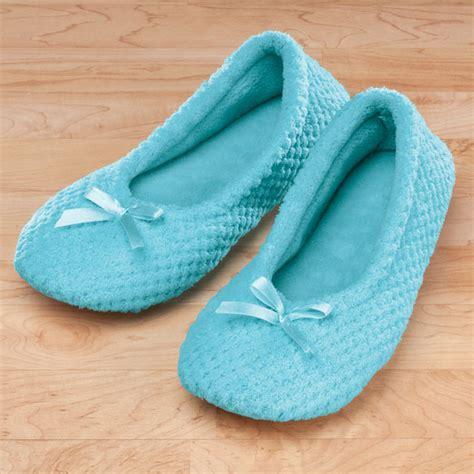 ballet house slippers chenille ballet slippers house slipper ballet slipper miles kimball