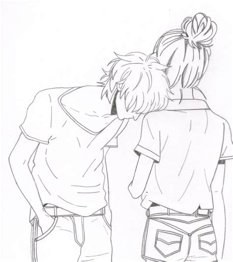 cute cuple hug and kissing sketch pics cute anime couples cuddling quotes with quotesgram