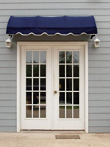 Single Door Awning by Door Awnings The Copper Door Awning With Single S Scrolls