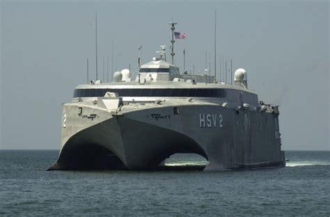 catamaran military ship high speed vessel hsv theater support vessel tsv actd