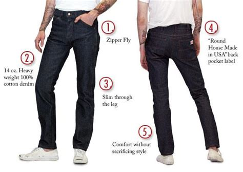 round house jeans american made jeans slim fit 14 oz jeans made in usa 147 round house american