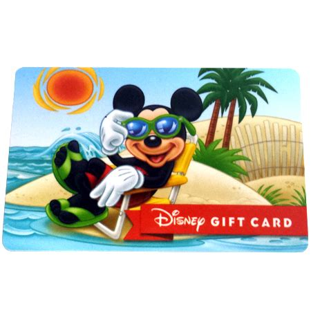 Rays Gift Cards - your wdw store disney collectible gift card beach series catching some rays banner