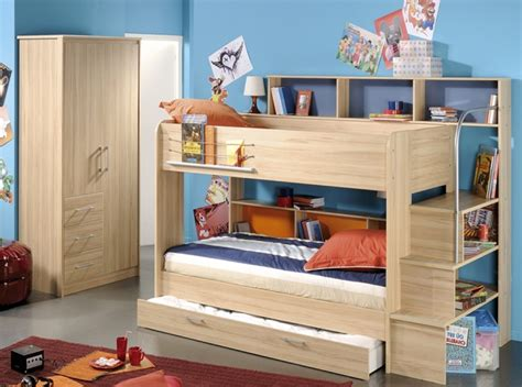 bunk bed with shelf headboard kids loft beds with storage modern storage twin bed