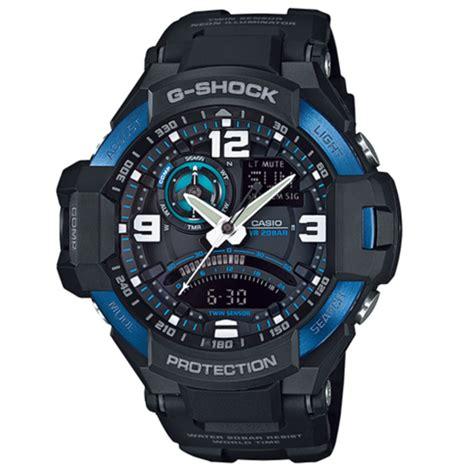 Casio G Shock Ga 1000 Black Blue 1 casio g shock ga 1000 2b aviation series mens
